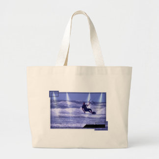 Kiteboarding Design Tote Bags