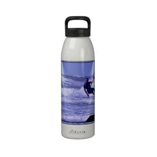 Kiteboarding Design Water Bottles