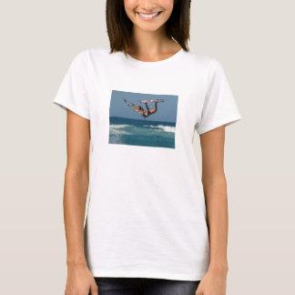 Kiteboarding Girl jumping T-Shirt