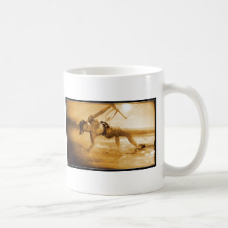 Kiteboarding Girl Classic White Coffee Mug