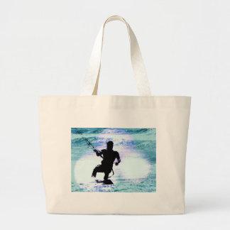 Kiteboarding Jumbo Tote Bag