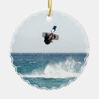 Kiteboarding Jump Ornament