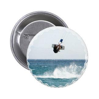 Kiteboarding Jump Round Button