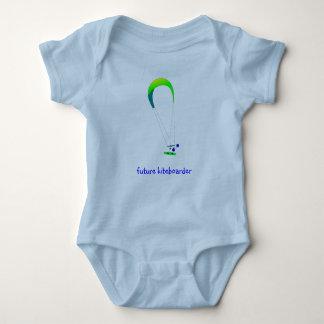 Kiteboarding Kitesurfing Baby T-Shirt