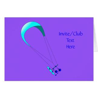 Kiteboarding Kitesurfing Gifts Card