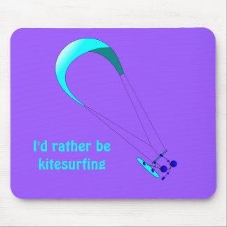 Kiteboarding Kitesurfing Gifts Mouse Pad