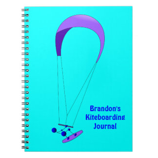 Kiteboarding Kitesurfing Gifts Notebook