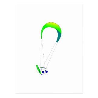 Kiteboarding - Kitesurfing Postcard