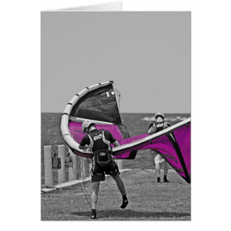Kiteboarding Kitty Hawk NC Card