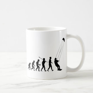 Kiteboarding Classic White Coffee Mug