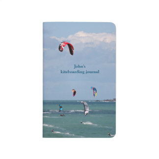 Kiteboarding personalised journal