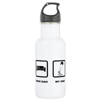 Kiteboarding 18oz Water Bottle