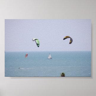 Kiteboarding Poster