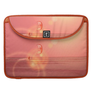"Kiteboarding Sunset 15"" MacBook Sleeve MacBook Pro Sleeve"