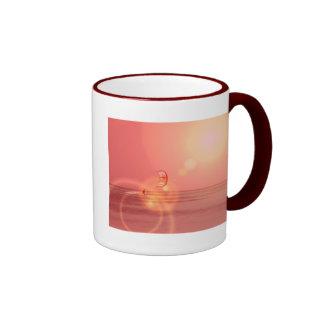 Kiteboarding Sunset Ceramic Mug