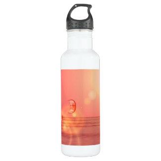 Kiteboarding Sunset 24oz Water Bottle