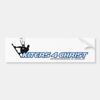 Kiters4Christ Pegatina Para Auto