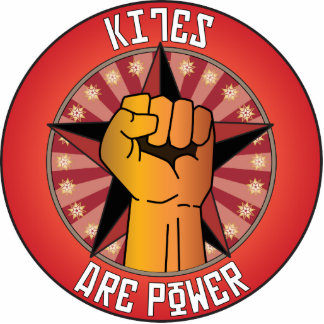 Kites Are Power Photo Sculpture Ornament