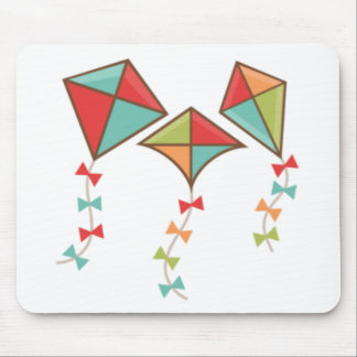 Kites  colorful mouse pad