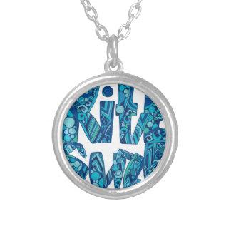 kitesurf.ai silver plated necklace