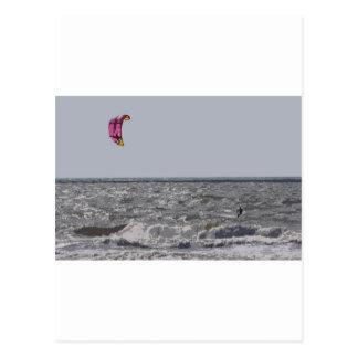 Kitesurfer 2 postcard