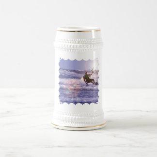 Kitesurfer Beer Stein Mug