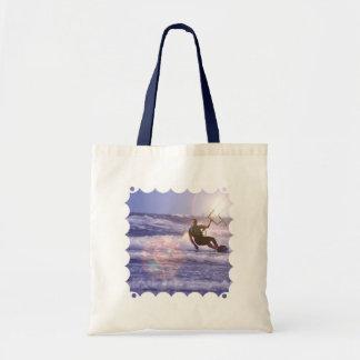 Kitesurfer Budget Tote  Bag