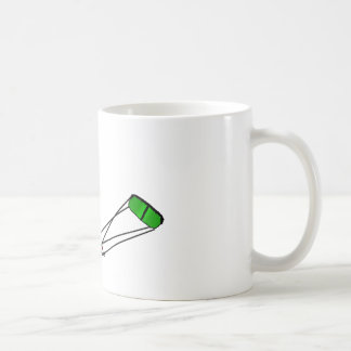 kitesurfer coffee mug