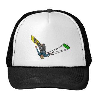kitesurfer gorro de camionero