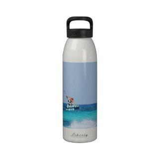 Kitesurfer Grab Drinking Bottle