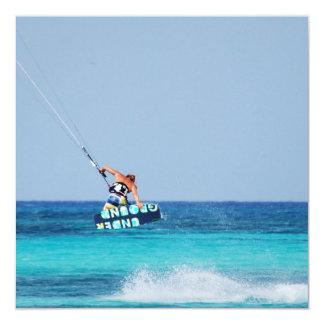 Kitesurfer Grab Custom Invite