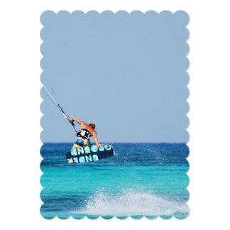 Kitesurfer Grab Invitations