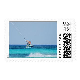 Kitesurfer Grab Stamps