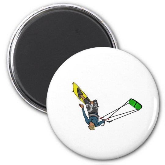 kitesurfer magnet