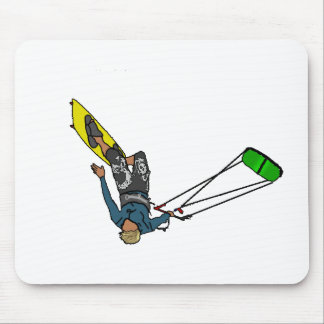 kitesurfer mouse pad