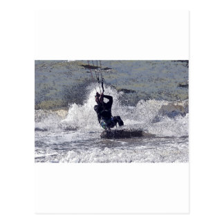 Kitesurfer Postcard