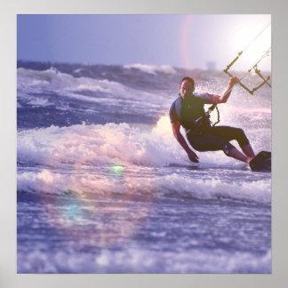 Kitesurfer Poster Print