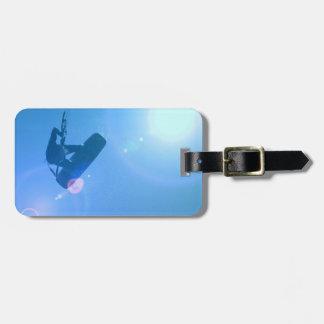 Kitesurfing Air Luggage Tag