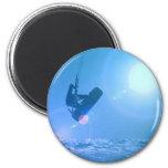 Kitesurfing Air Magnet Refrigerator Magnet