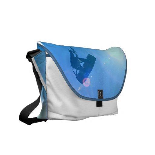 Kitesurfing Air Messenger Bag