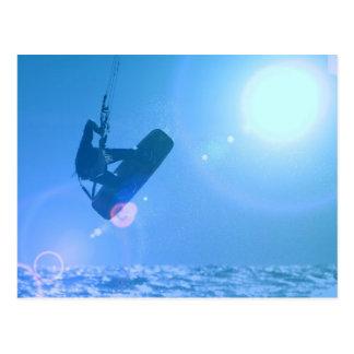 Kitesurfing Air Postcards