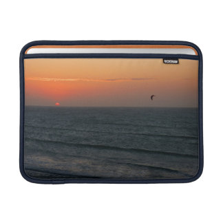 Kitesurfing at sunset sleeve for MacBook air
