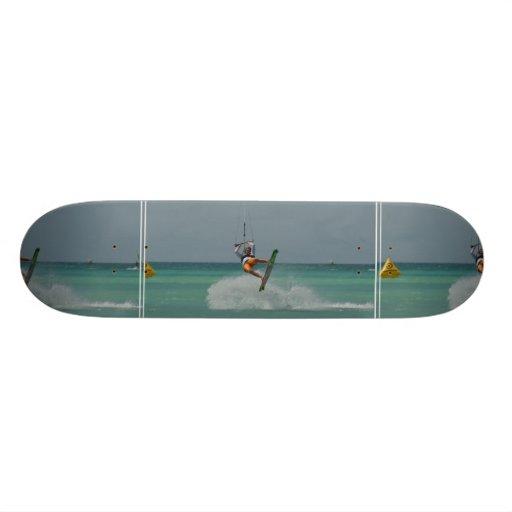 Kitesurfing Flip Skateboard Deck