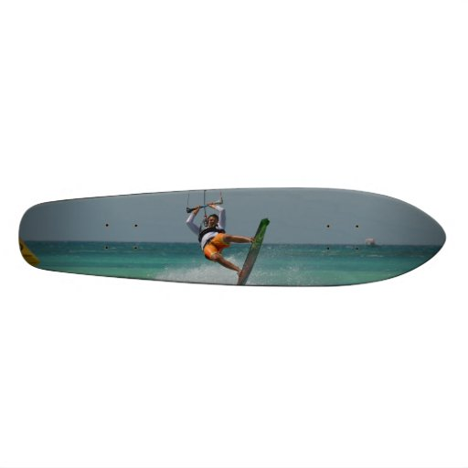 Kitesurfing Flip Skate Board