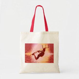 Kitesurfing Grab Grocery Tote Bag