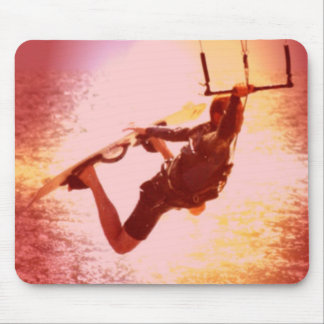 Kitesurfing Grab Mouse Pad