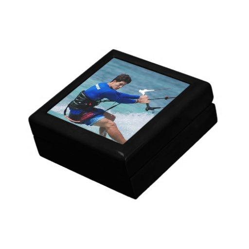 Kitesurfing Guy Gift Box