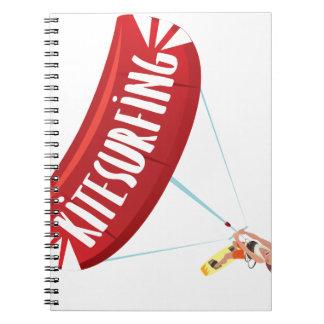 Kitesurfing Guy Notebook