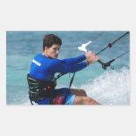 Kitesurfing Guy Sticker
