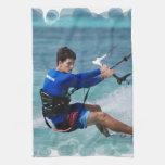 Kitesurfing Guy Towel
